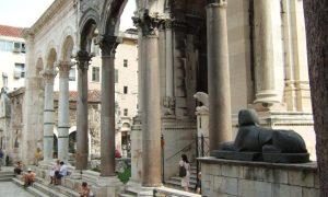 Nejimpozantnější římská památka v chorvatském Splitu – Diokleciánův palác
