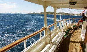 Noční plavby trajektem z Itálie do Chorvatska