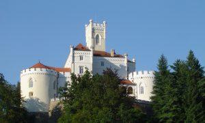 Prohlídka hradů v Chorvatsku