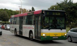 Cestování autobusem v Chorvatsku
