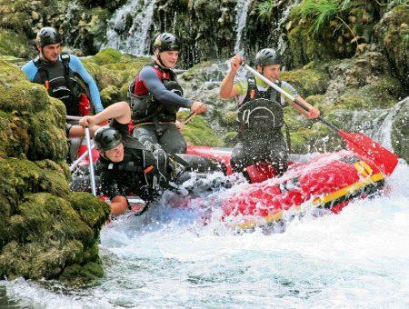 Rafting v Chorvatsku